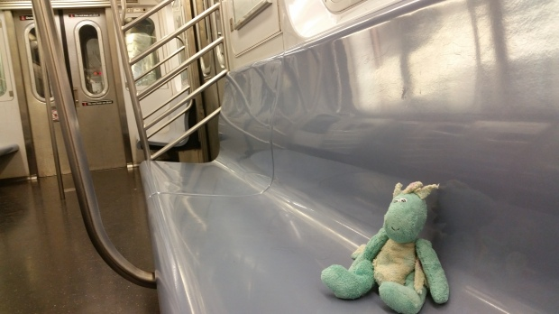 A Subway Car of His Own