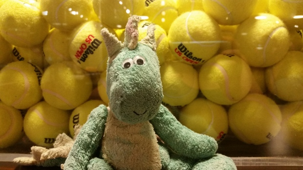 Harold and the tennis balls
